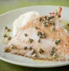 Rog met Hazelnootboter en kappertjes | Weekend Knack Culinair