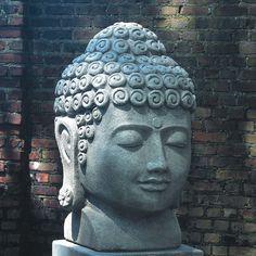 A Stone Buddha Head Sculpture Found In The Gardens Of Some Art Studiou0027s In  Vietnam. | Buddha | Pinterest | Buddha Head, Gardens And Garden Sculptures