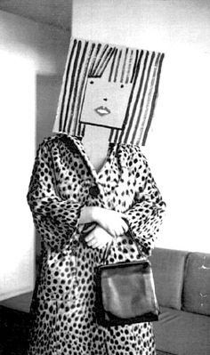 Saul Steinberg and Inge Morath | Masquerade found via Hazel Terry ~ Drawdrawdraw