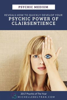 Psychic medium reveals that your clairsientience ability is rooted in your second chakra. This is the gateway to this amazing psychic power that you were born with. Click to learn more from from 2017 #Psychic of the Year Michelle Beltran | Psychic Development | Psychic Readings | Psychic Abilities + Accurate Readings
