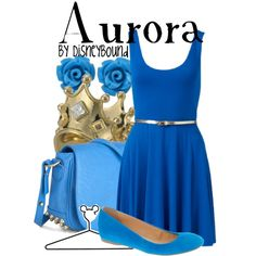 """""""Aurora"""" by lalakay on Polyvore #disney you will all be trying to decide if I'm Ucc from for on! Lol I can do better then their maleficent"""