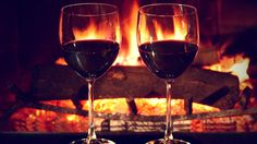 red wine for two...