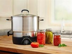 Buy Ball� FreshTECH Electric Water Bath Canner and Multi-Cooker 21-qt by Ball� at Fresh Preserving Store. Get Electrics and Ball�, along with reviews, home entertaining tips and more. Cook and Entertain like a pro with kitchenware from the Fresh Preserving Store. from Fresh Preserving Store