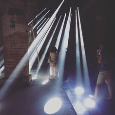 Totally dazzling installation by Transsolar 'Cutting edge engineering at the service of common sense' /// #reportingfromthefront #biennalearchitettura2016 #venicebiennale #biennale #architecture #sustainability #light #arsenale #preview #opening #architecturebiennale #bienalarquitectura Re-post by Hold With Hope