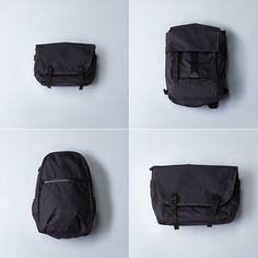 Stone Island X Bagjack Transformable Messenger Bag  Highsnobiety