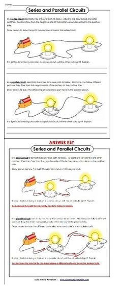 Check out our electricity worksheets!
