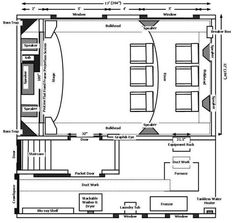 Theatre Room Layout   Google Search