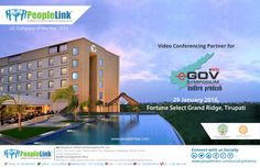 PeopleLink has been announced as the Video Conference Partner for eLets eGov Symposium, Andhra Pradesh 2016 to be held at Fortune Select Grand Ridge, Tirupati on 29th January 2016.