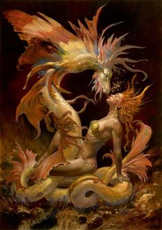fantasy sex Dragon art
