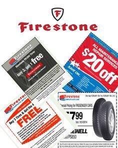 Firestone Coupons 2012 - Printable  Online Auto Maintenance Deals