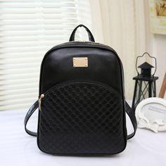 Women Leather Backpacks Zipper Female Chest Bag Sac a Dos Travel Back Pack Ladies Bagpack Mochilas School Bags For Teenage Girls