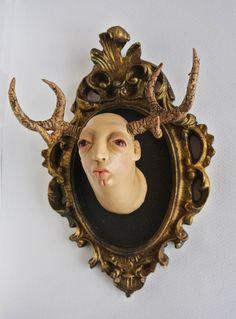 "Saatchi Art Artist Francesca Dalla Benetta; Kiparstvo, ""Trofeo Cervo Giovane""…"