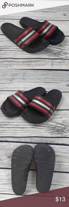 e1fb1a6bf Adidas Slides size 9 Adidas Slides Size 9 Men Obvious wear and tear Worn  Down By