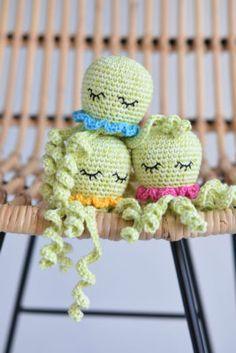 Pulpo de Amigurumi | Patrones de amigurumi y crochet gratis | lilleliis