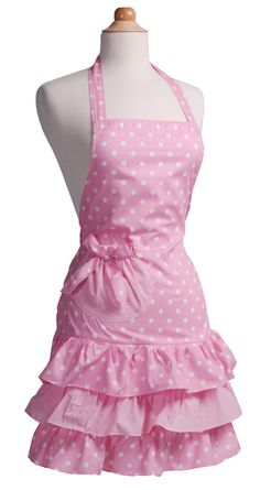 Marilyn Strawberry Shortcake Apron from Flirty Aprons