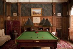 Create A Classic Billiard Room In Your House | Wearefound Home Design
