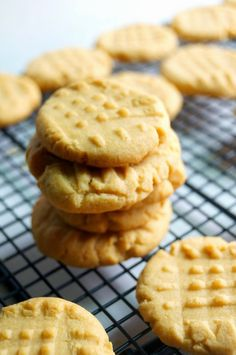 The Best Peanut Butter Cookies! Made with a cake mix and only 3 other ingredients!