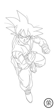 Dragon Ball Broly Coloring Page Coloring Pages