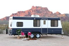 Camper Makeover: How to Repaint the Exterior