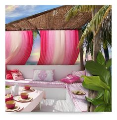 """New Contest: Your Dream Patio"" by debraelizabeth ❤ liked on Polyvore featuring interior, interiors, interior design, home, home decor and interior decorating"
