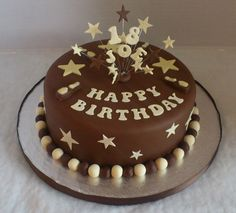 chocolate birthday cake ideas for men - Google Search