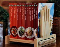 Handwood Aparador para livros 25cm