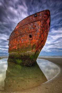 Baltray Wreck, Louth, Ireland by Darek Gruszka on 500px
