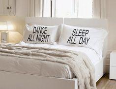 Amazon Dance All Night Pillowcase Set