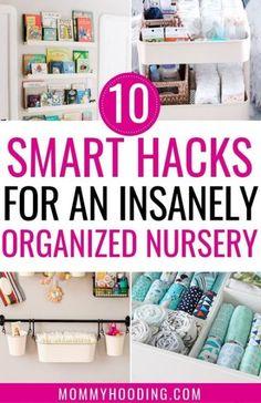 Baby Nursery Closet Organization Diy Small Spaces 20 Ideas For 2019 Baby Nursery Closet, Baby Nursery Diy, Nursery Twins, Diy Baby, Nursery Ideas, Baby Room, Room Ideas, Nursery Inspiration, Nursery Rugs