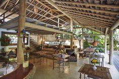 Lounge Gallery Uxua Casa Hotel, Transcoso, Brazil