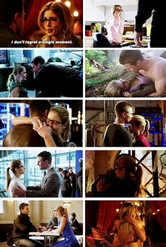Knowing you has changed my life. You opened up my heart in a way I didn't even know was possible. I love you. #Olicity #Arrow