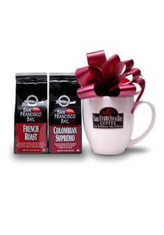 San Francisco Bay Coffee, Experience San Francisco Bay Gourmet Coffee Gift Basket - http://www.freeshippingcoffee.com/brands/san-franciso-bay-coffee/san-francisco-bay-coffee-experience-san-francisco-bay-gourmet-coffee-gift-basket/ - #SanFrancisoBayCoffee