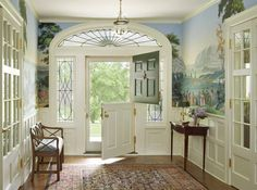 Items similar to Antique Dutch door reclaimed architectural salvage Spring renovation project Summer easy breeze rustic country cottage decor hardwood doors on Etsy Zuber Wallpaper, Scenic Wallpaper, Amazing Wallpaper, Interior Exterior, Interior Design, Interior Decorating, Dutch Colonial, Entry Foyer, Entrance Hall