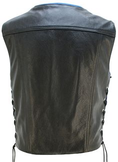 American-made custom motorcycle leather jackets including horsehide vests, leather chaps and American bison jackets. Lifetime Guarantee.