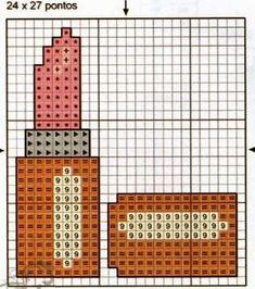Plastic Canvas Crafts, Plastic Canvas Patterns, Alpillera Ideas, Cross Stitch Charts, Cross Stitch Patterns, Cross Stitching, Cross Stitch Embroidery, Hama Beads Disney, Beaded Crafts