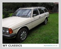 1981 Mercedes-Benz 230TE classic car