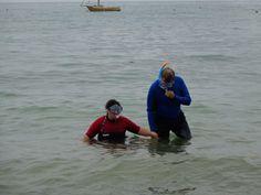 Portinho da Arrábida. Onde fomos fazer snorkeling porque tem uma água muito calma e algumas rochas onde existem muitos peixes.