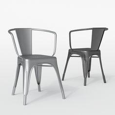 3d model u2013 tolix u2013 a57 armchair