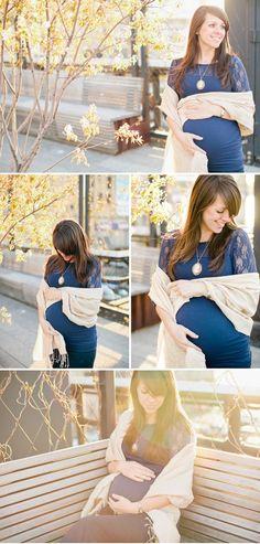 Le pashmina , idéal comme châle pour femme enceinte, façon de porter une étole pour une femme enceinte, s'habiller et être à la mode avec un châle.