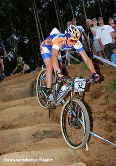 American Adam Craig sports a pair of Dugast tires at the World Cup in Pietermaritzburg