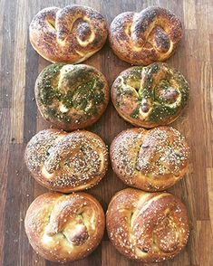 The American-born couple behind the Pat BaMelach bread bakeries In Israel extol the ancient virtues of wheat and its connection to Shavuot. Pretzels, Bagel, Bread Recipes, Holi, Breads, Favorite Recipes, Healthy Recipes, Magazine, Baking