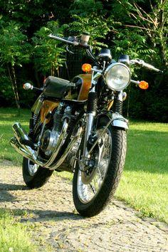HONDA CB 500 Four Candy Gold EZ 1972