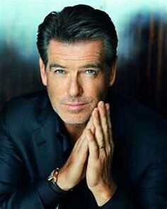 Pierce Brosnan, my old man crush. Much cuter than George Clooney, in my opinion. I might get punched for saying that though...