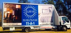 Surya makes a statement that blue is in at the Atlanta home show! Remember JET Mobile Media for your next event!