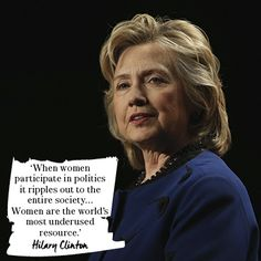 Hillary Clinton Quotes Impressive Inspirational Quotes Wise Words From Famous Women  Inspirational