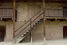 Sonoma Barracks by Scott Johnson via flickr. Headquarters of the Bear Flag Revolt! P.S. You can visit this building (along with General Vallejo's home) in Sonoma today.