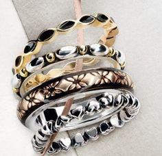 gold/silver rings Pandora, AW 2012