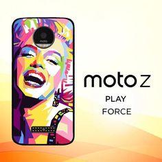 Andy Warhol Marilyn Monroe Pop Art Y0372 Motorola Moto Z Force Case