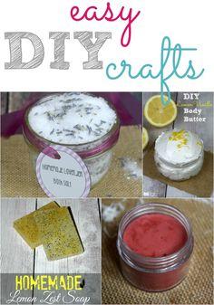 Easy DIY crafts are
