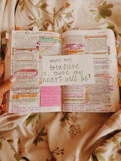 Bible journaling with notes matthew Bible Study Journal, Scripture Study, Bible Art, Bible Notes, Bible Scriptures, Esv Bible, Journaling, Bibel Journal, Bible Doodling